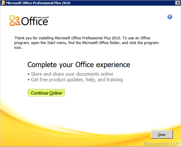 Error 1731 during office 2010 installation developer onenote - You cannot install the 32 bit version of office 2010 ...