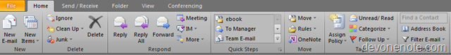 outlook black theme